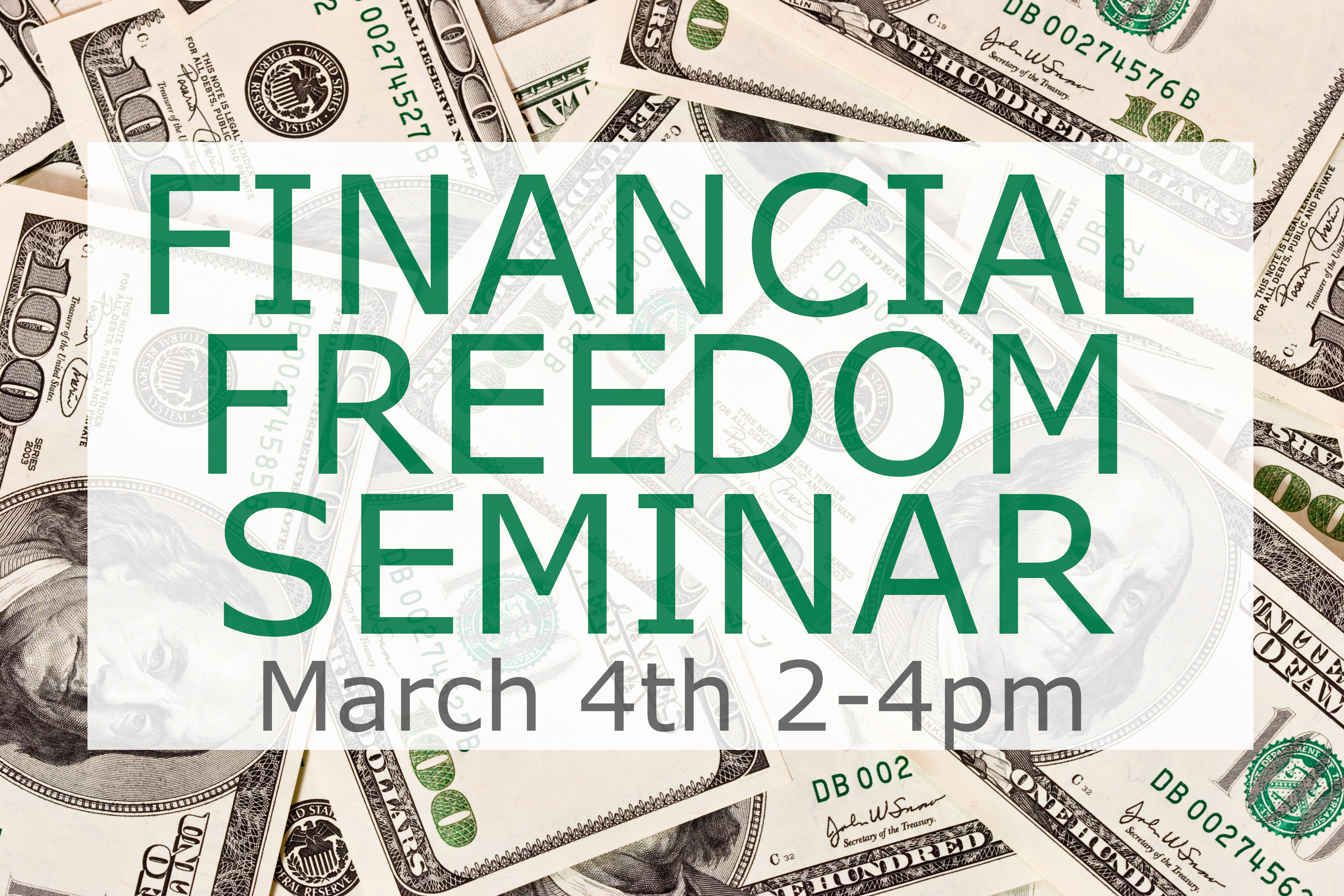 Financial Freedom Seminar @ The Church on Main   Columbia   Mississippi   United States