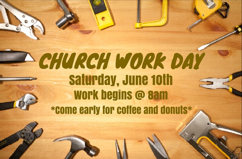 Church Work Day @ The Church on Main | Columbia | Mississippi | United States